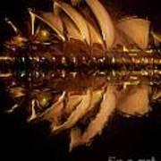 Sydney Opera House Abstract Art Print