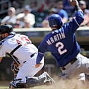 Texas Rangers V Minnesota Twins 4 Art Print