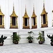 Thai Kings Grand Palace Art Print