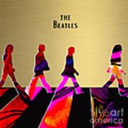 The Beatles Gold Series Art Print