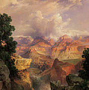 The Grand Canyon Art Print by Thomas Moran