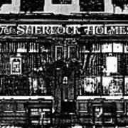 The Sherlock Holmes Pub Art Print