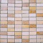 Tiles Background Art Print