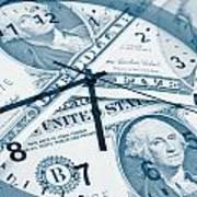 Time Is Money Concept Art Print