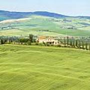 Tuscany - Val D'orcia Art Print