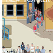New Yorker September 17th, 2012 Art Print