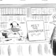New Yorker February 14th, 2005 Art Print