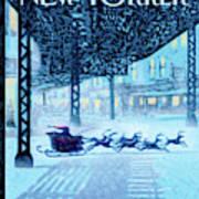 New Yorker December 19th, 2011 Art Print