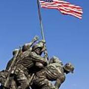 Us Marine Corps Memorial Art Print