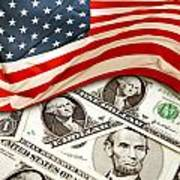 Usa Finance Art Print