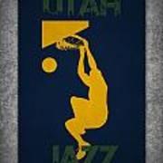 Utah Jazz Art Print