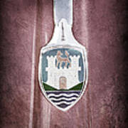Volkswagen Vw Hood Emblem Art Print