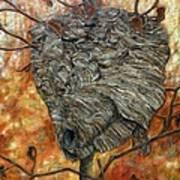 Wasp Nest Art Print
