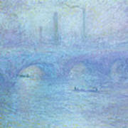 Waterloo Bridge Art Print