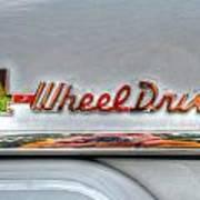 4 Wheel Drive Art Print