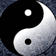 Yin And Yang 2 Art Print