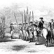 Yorktown: Surrender, 1781 Art Print