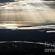 Aerial Photo Art Print
