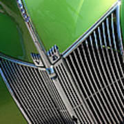 40 Ford - Grill Detail-8633 Art Print