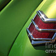 40 Ford - Tail Light-8531 Art Print