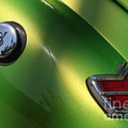 40 Ford - Tank N Tail Light-8527 Art Print