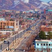 400 S Salt Lake City Art Print