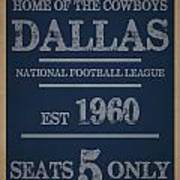 Dallas Cowboys Art Print