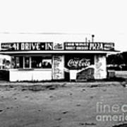41 Drive In-manchester Tennessee Art Print by   Joe Beasley