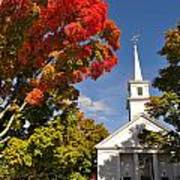 Lunenburg, Ma - Fall Foliage Art Print