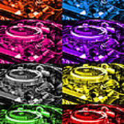 426 Hemi Head Pop Art Print