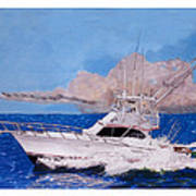Storm Chasing On The High Seas Art Print