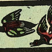Illustration Of English Tales Folk Tales And Ballads Art Print
