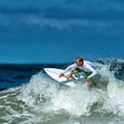 Surfing Fun Art Print