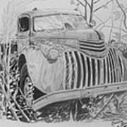 46 Chevy Treasure Art Print
