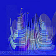 461 - City Of Future 2 .... Art Print