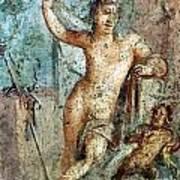 Naples Archeological Museum Roman Art Art Print