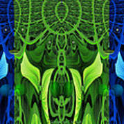 479 - Secret Dwellers In The Woods Art Print