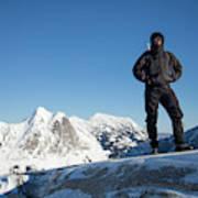 Mountaineering Art Print