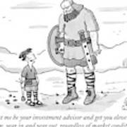 Instead, Let Me Be Your Investment Advisor Art Print