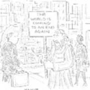 New Yorker October 31st, 2005 Art Print