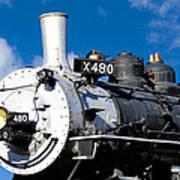 480 Locomotive Art Print