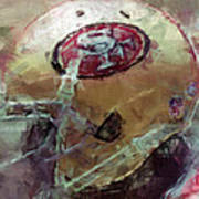 49ers Art Art Print