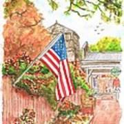 4th Of July In Los Olivos, California Art Print by Carlos G Groppa