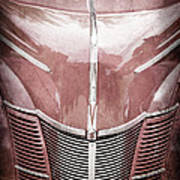 1940 Ford Deluxe Coupe Grille Art Print