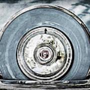 1956 Ford Thunderbird Spare Tire Art Print
