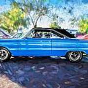 1967 Plymouth Belvedere Gtx 440 Painted  Art Print