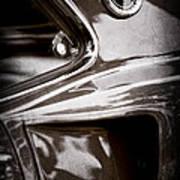 1969 Ford Mustang Mach 1 Emblem Art Print