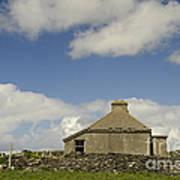Abandoned Farm In Ireland Art Print