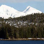 Alaskan Landscape Art Print