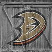 Anaheim Ducks Art Print